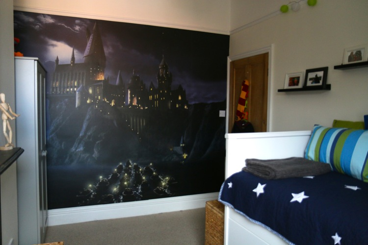 Fleas Harry Potter Bedroom Makeover Whos the Mummy