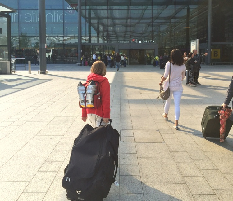airport tips single parents