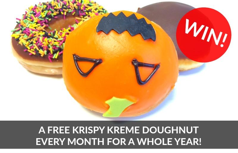 Win Free Krispy Kreme Doughnuts for a Year
