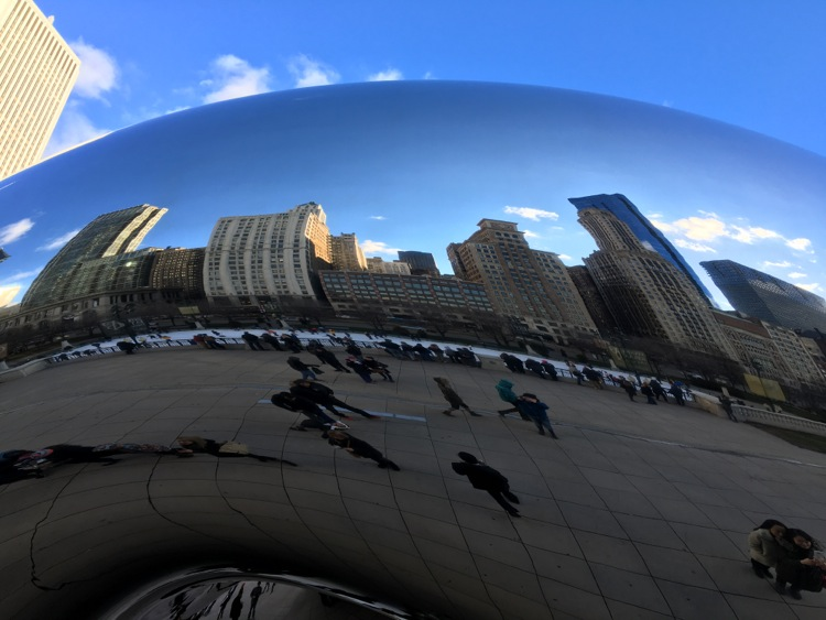 chicago the bean