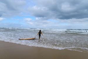 surfing moliets kids