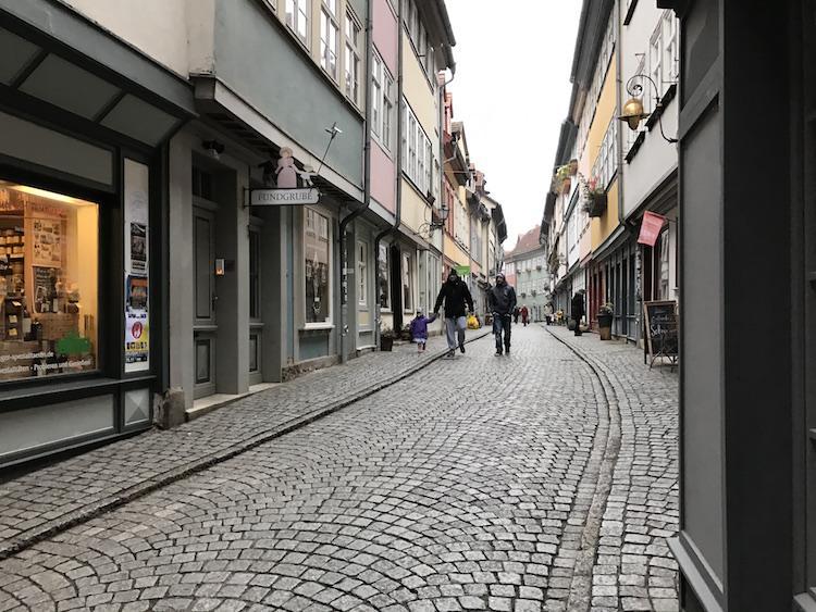 the city of erfurt