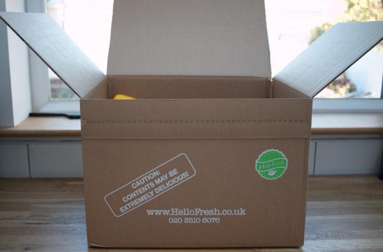 Review: Hello Fresh Recipe Box