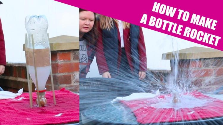 HOW TO MAKE A BOTTLE ROCKET