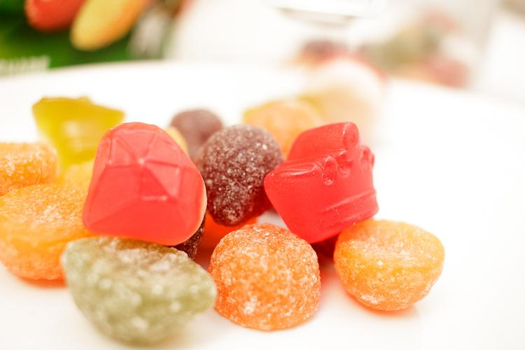 rowntrees reduced sugar