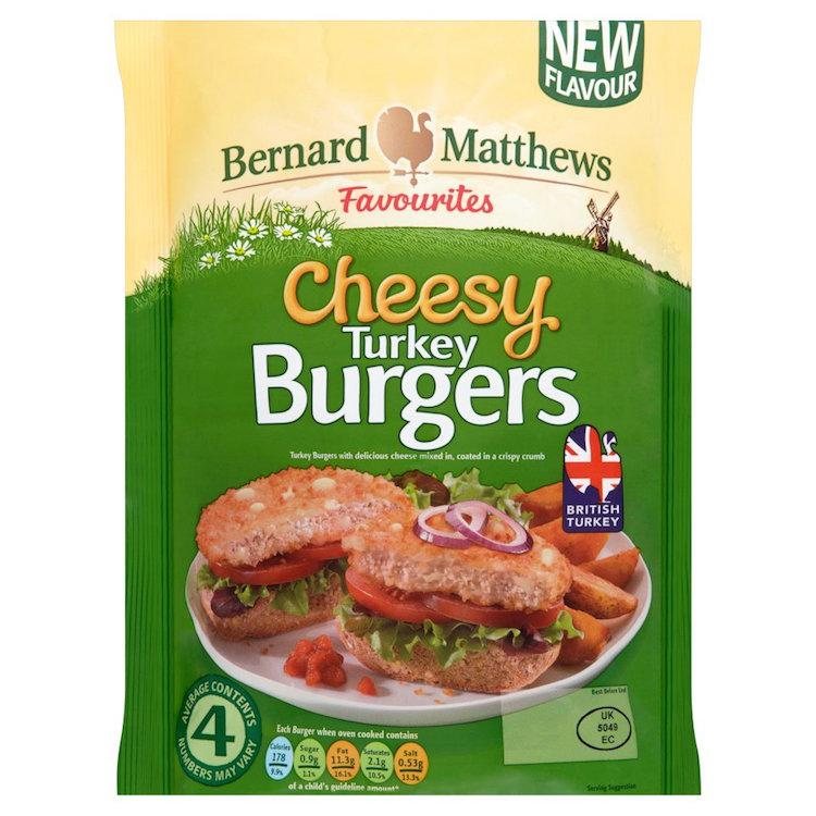 1980s food turkey burgers