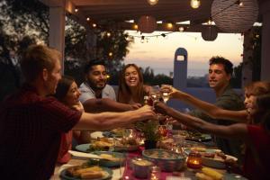 dinner party single parents