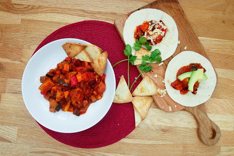 Veggie Chilli (as inspired by The Big Family Cooking Showdown)