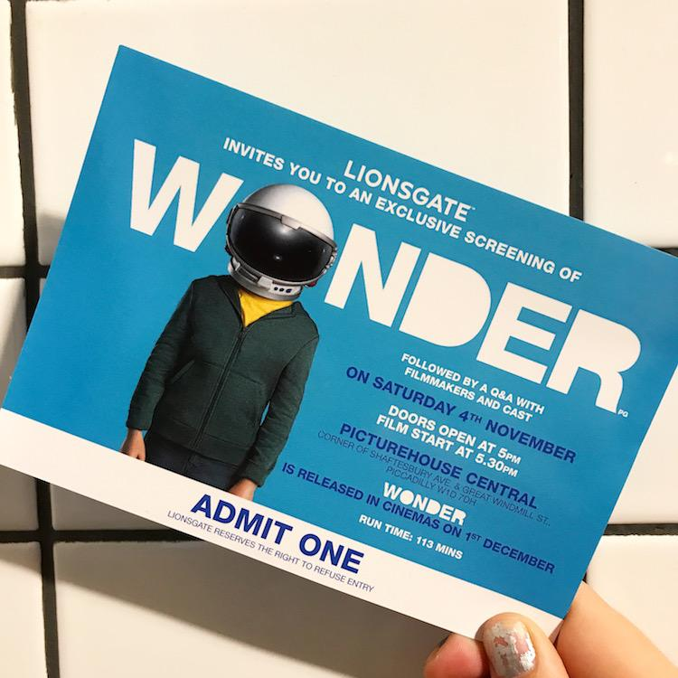 Wonder screening London