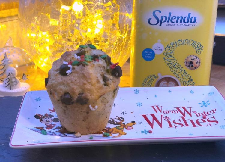 splenda chocolate chip muffins