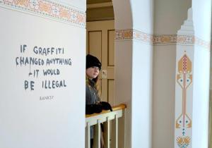 moco banksy exhibition amsterdam