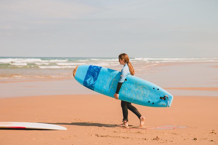 surfing biscarrosse
