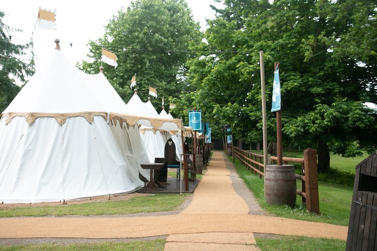 Warwick Castle glamping tents review