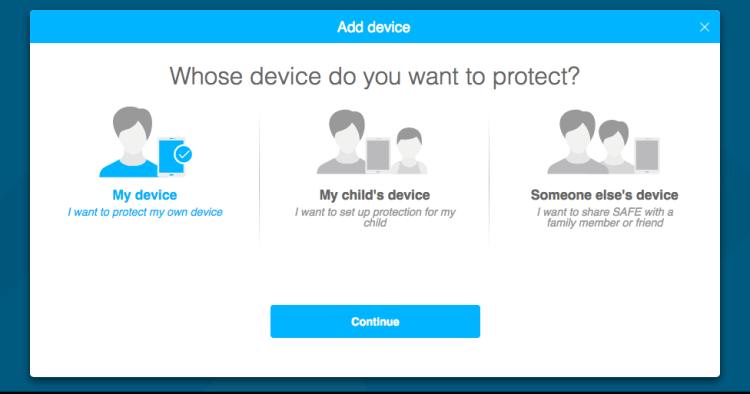 F Secure Parental controls