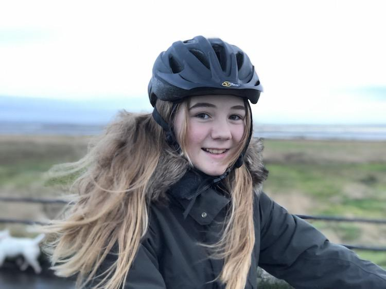 Flea on a bike