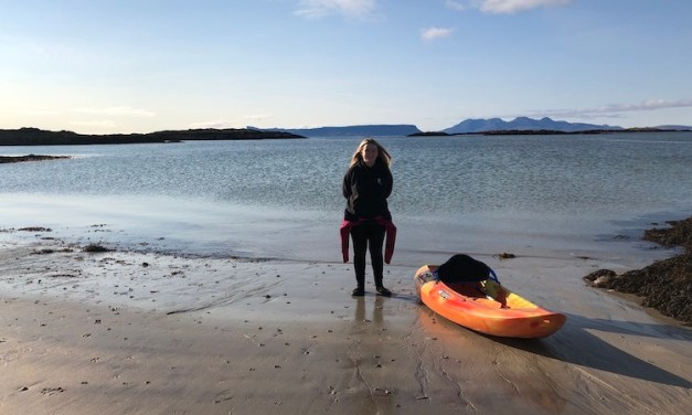A Weekend Kayaking in Arisaig, Scotland