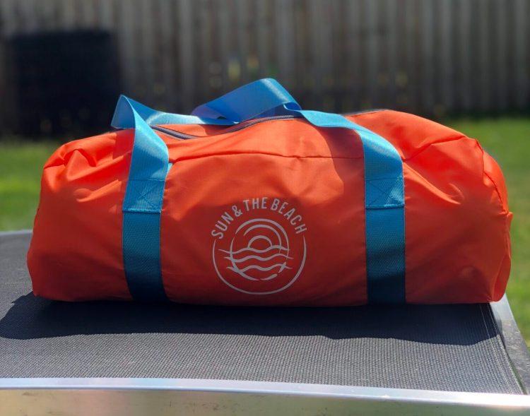 sunshade in bag