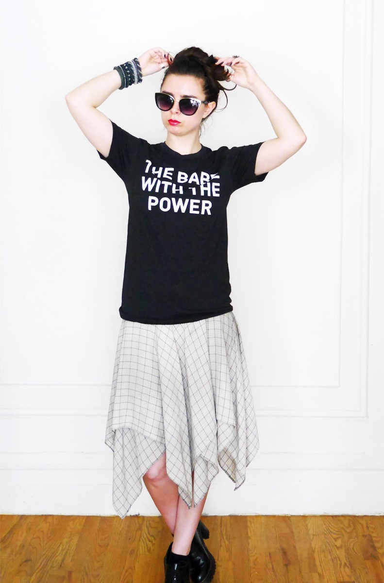 10x10 Wardrobe Challenge PowerTee+SilkSkirt 2