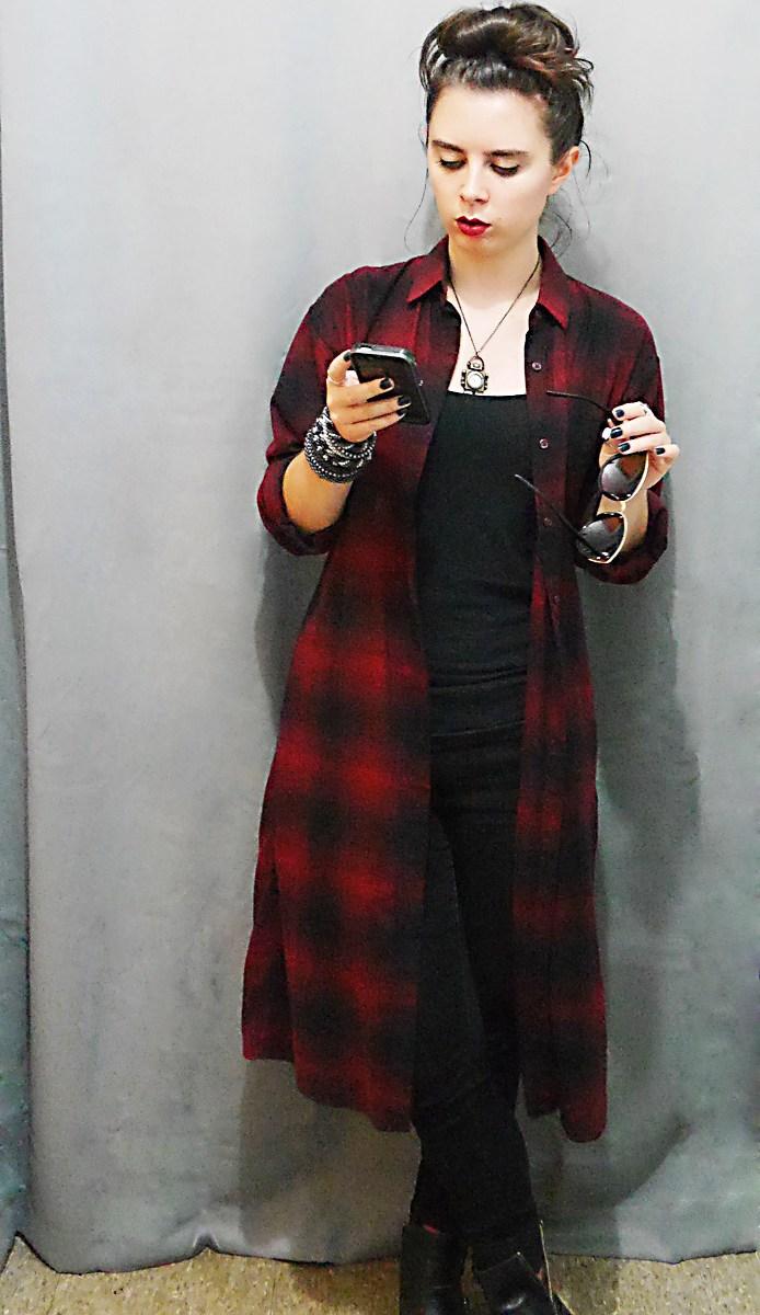 FDress+Jeans+Boots Fall10x10WardrobeChallenge 1