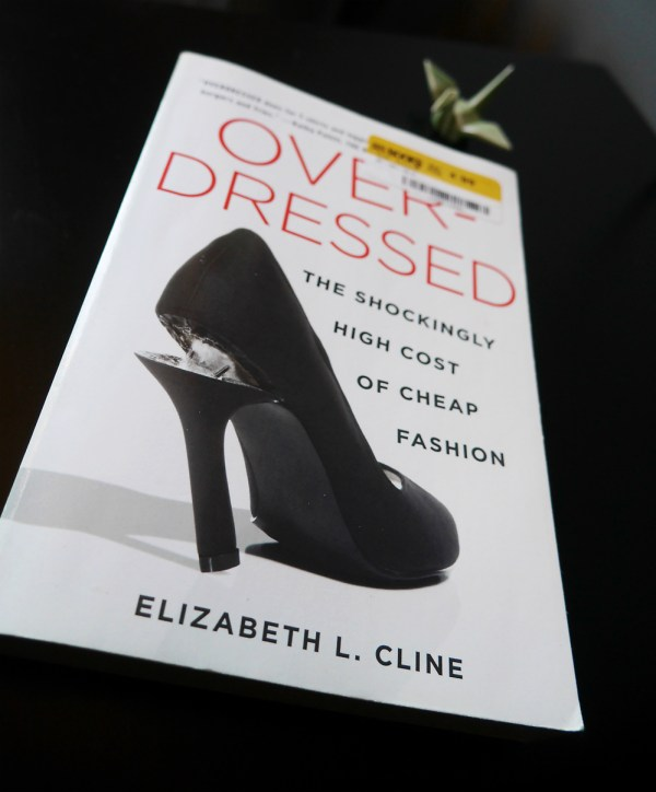 The shockingly high cost of cheap clothing, a review of Elizabeth L. Cline's Overdressed.