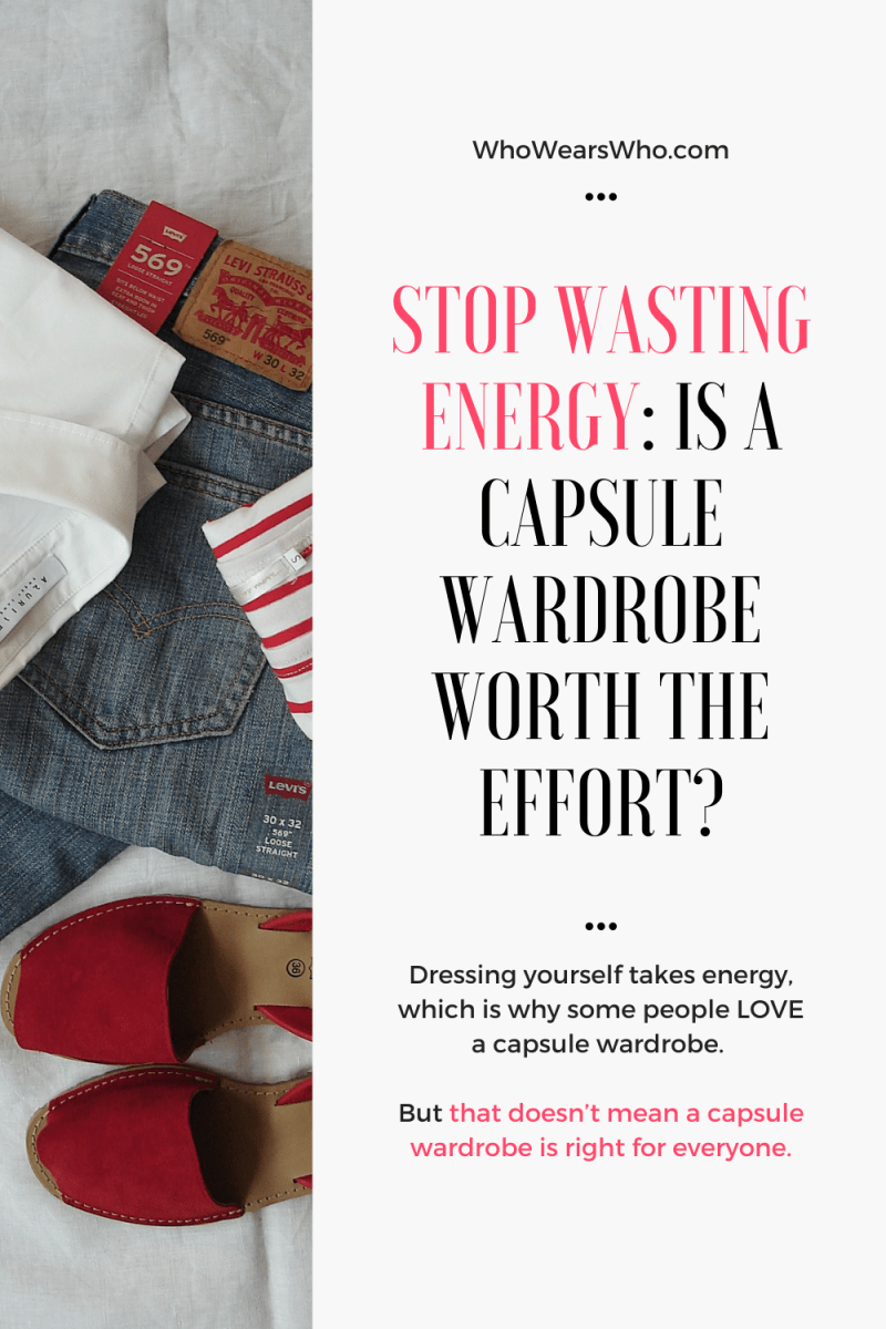 Is a capsule wardrobe worth the effort blog graphic