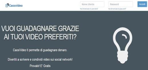 caosvideo-guadagnare con facebook