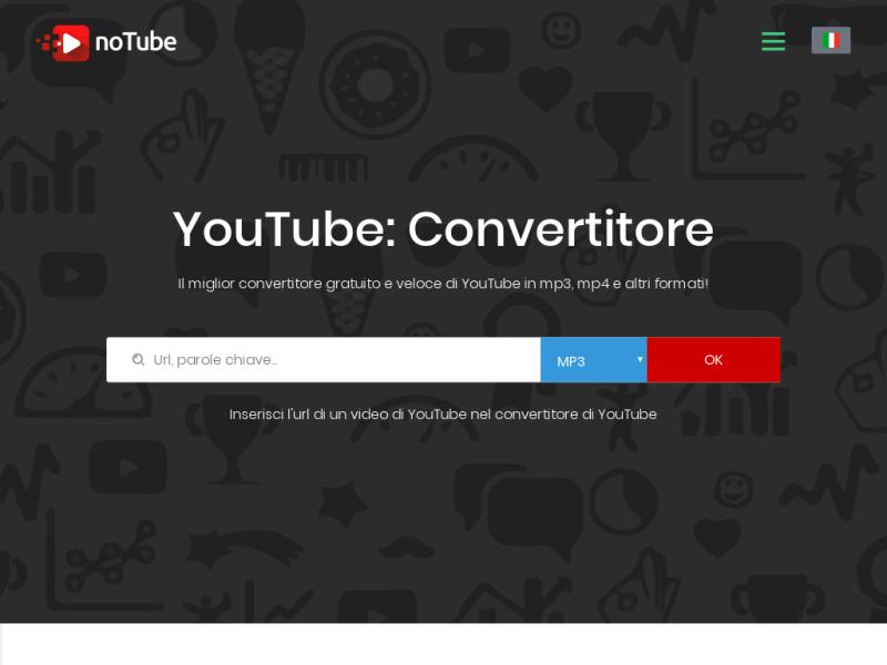 notube - download video youtube online