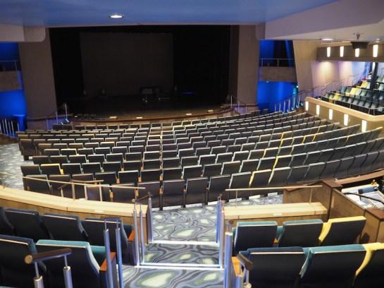 Das hauseigene Theater.