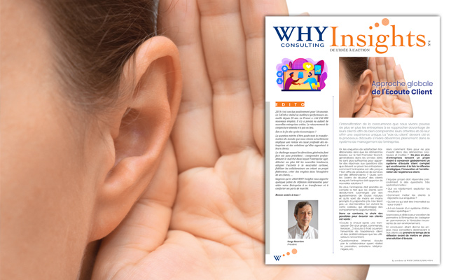 WHY Insights, la newsletter de WHY Consulting