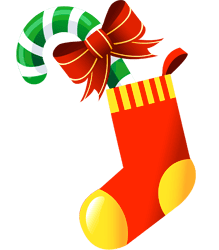 A Christmas stocking
