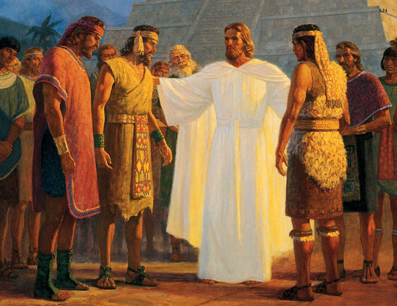 Jesus appears in the Americas