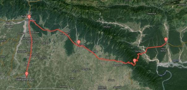 day 3 tour: photo credit Tour de Lumbini