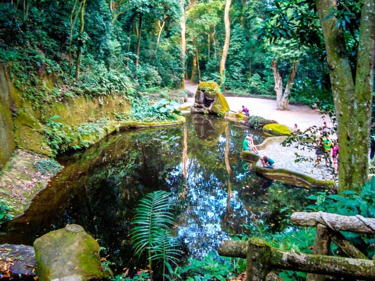 Lago no Parque Lage