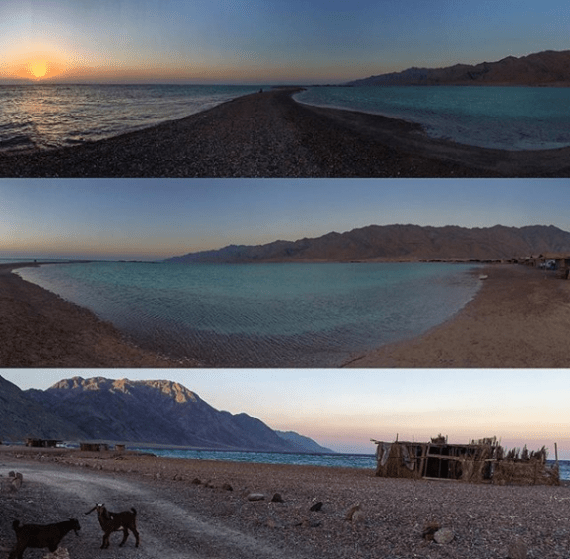Sunset & Sunrise at the Blue Lagoon by Passainte Assem