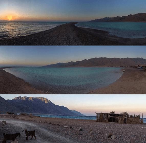 Sunset & Sunrise at the Blue Lagoon by Passainte Assem