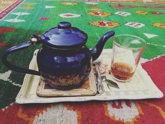 Taking the Bedouin tea traditions back home