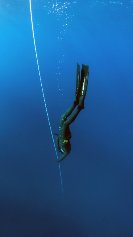 Freediving by Jakob Boman via Unsplash