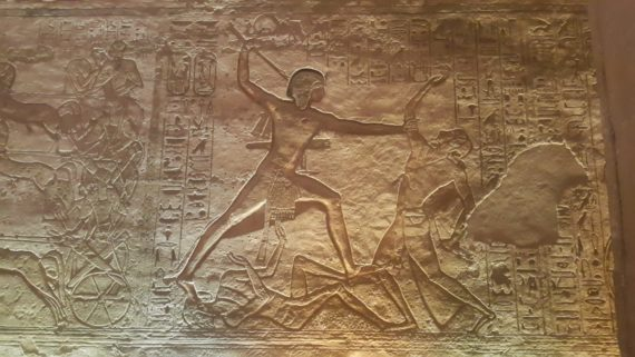 The pharaoh defeats his enemies by Mohamed Said