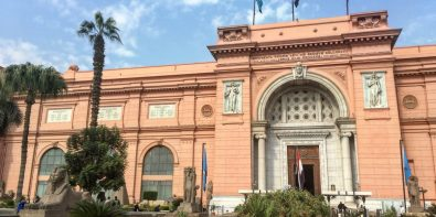 The Egyptian Museum of Antiquities in Downtown Cairo by Passainte Assem