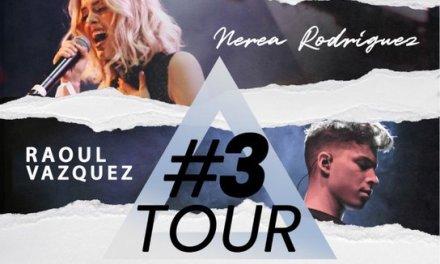 """#3Tour"", la gira que reunirá en cuatro ciudades a Ricky Merino, Nerea Rodríguez y Raoul Vázquez"