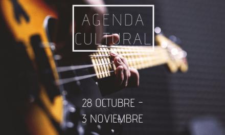 AGENDA CULTURAL | ¿Qué hacer del 28 de octubre al 3 de noviembre?