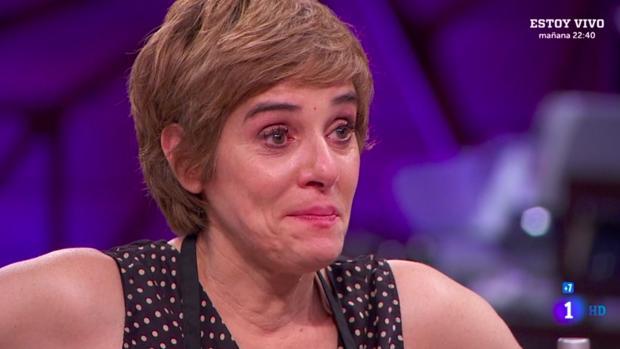 Anabel Alonso se despide de MasterChef Celebrity