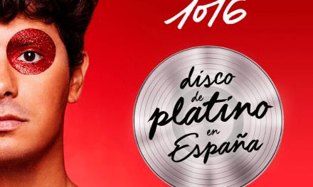 Alfred García se despide del 2019 con un disco de platino