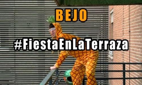 """""""Fiesta en la Terraza"""", la banda sonora de Bejo para la cuarentena"""