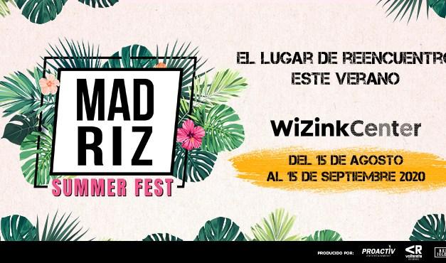 La música vuelve a Madrid este verano con el 'Madriz Summer Fest' en el WiZink Center
