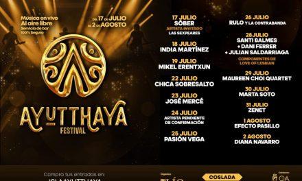 Ayutthaya Festival lleva la música en directo a Coslada en la nueva normalidad
