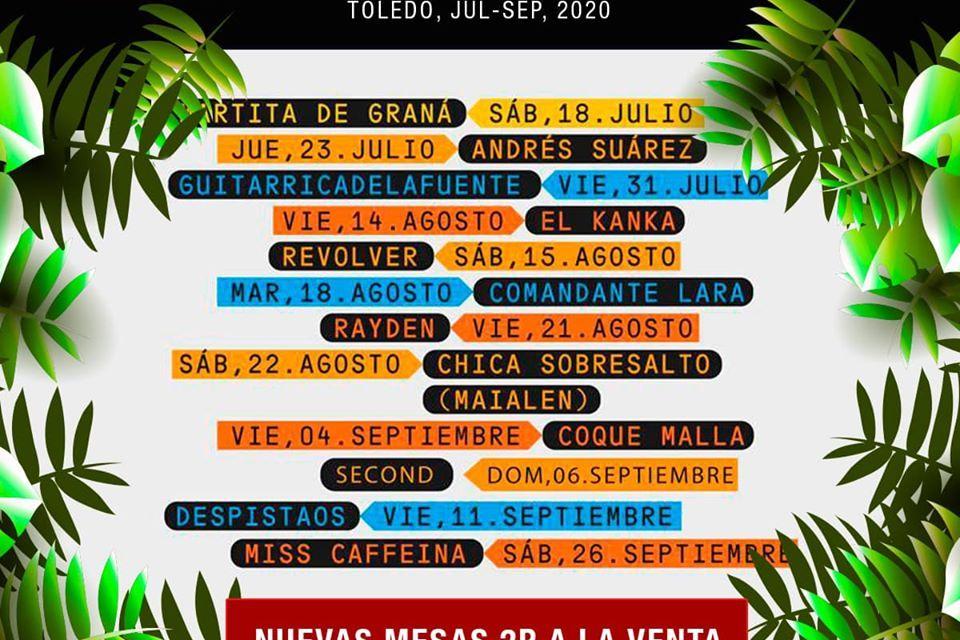 Toledo Alive lleva la música en directo este verano a la Terraza Summerland