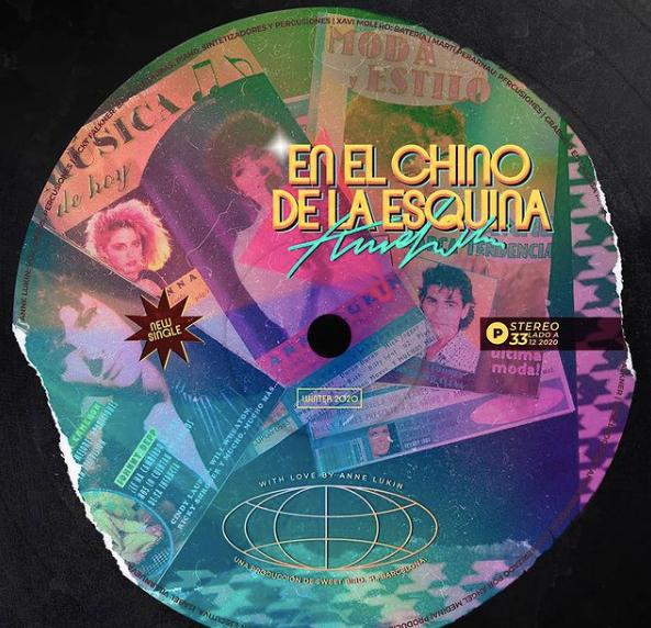 """Anne Lukin estrena su single y videoclip """"En el Chino de la Esquina"""""""