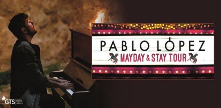 """Pablo López presenta su gira 'Mayday & Stay Tour': """"Será una fiesta del alma"""""""