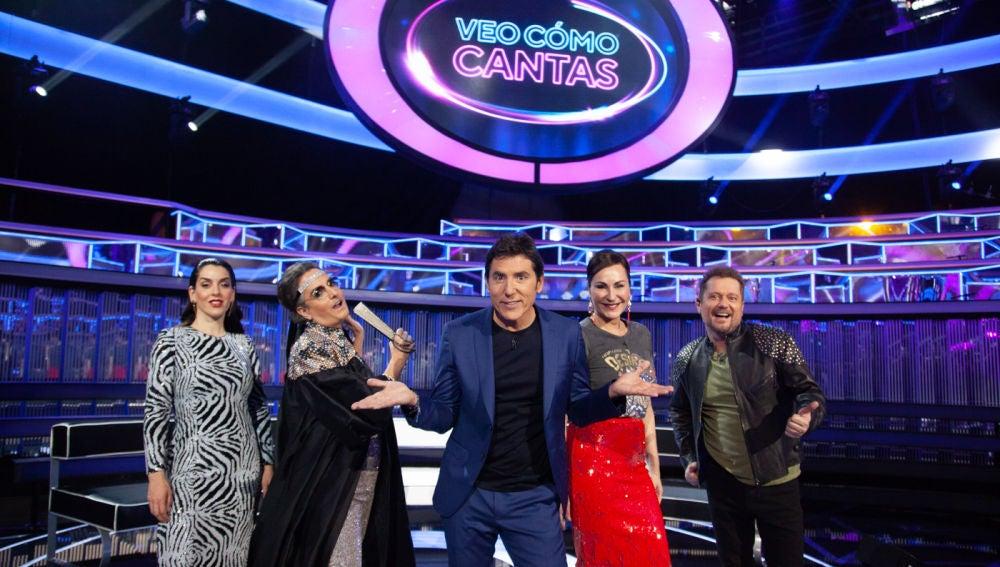'Veo cómo cantas', el nuevo programa de Antena 3 con Manel Fuentes